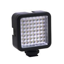 Mini DC 3V 5.5W 49 LED Videokamera Licht Panel Lampe 6000K fuer  Nikon DSLR L5B3
