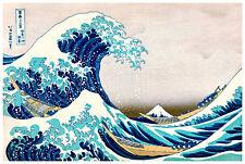 The Great Wave by Katsushika Hokusai 118.8cm x 81.6cm High Quality Canvas Print