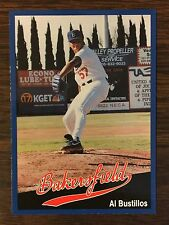 1991 Cal League #26 AL BUSTILLOS Card Limited Edition SUPER GLOSS Finish H817410