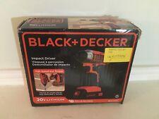 Black & Decker BDCI20C 20V MAX Lithium Impact Driver