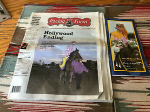 Daily Racing Form and Program, Chris McCarron Retires June 2002 Used lot