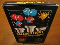 Balloon Fight Original Nintendo NES Complete CIB w/ Box, Instructions, & Poster