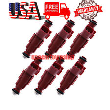 6pcs OEM Fuel Injectors FJ462 for 1999-2004 Jeep Grand Cherokee Wrangler Ford