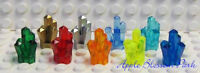 NEW Lego Lot/9 CRYSTAL Rock Monster Power Miner Minifig Gem Jewel Chest Treasure