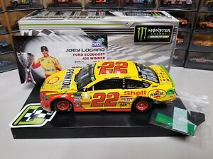 JOEY LOGANO 2018 SHELL/ PENNZOIL HOMESTEAD WIN RACED VERSION 1/24 ACTION