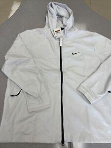 Nike Men's Tech Pack Knit Hoodie Platinum Tint BV4489  XXL 2XL fleece MSRP $130