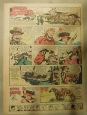Red Ryder Sunday Page by Fred Harman from 2/18/1945 Tabloid Page Size!