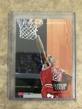 MICHAEL JORDAN 1993 SKYBOX NBA HOOPS SC11 SUPREME COURT CHICAGO BULLS NBA MJ