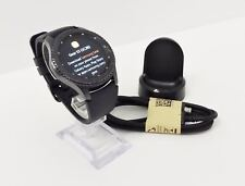 Samsung Galaxy Gear S3 frontier 46mm Stainless Steel Case Black Sport Band SM