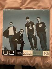 U2 photo calendar 2002. New/unopened.