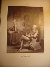Galerie contemporaine: Un Amateur Honoré Daumier