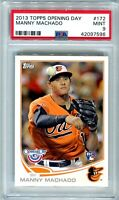 2013 Topps Opening Day Manny Machado RC #172 PSA 9 Mint New Holder Padres