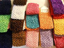 Wholesale 36 pcs Girls Baby Crochet Headband With 6 inch Acrylic