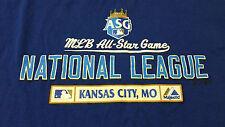 INV265 - Kansas City Royals 2012 All Star Game T Shirt XL National EUC Majestic