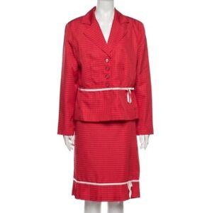 Vintage Giorgio Sant' Angelo Skirt Suit Size 14