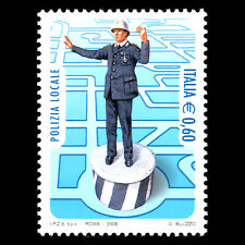 """Italy 2008 - nstitutions """"Dedicated to Local Police Force"""" - Sc 2903 MNH"""