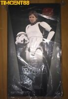 Hot Toys MMS418 Star Wars IV A New Hope Han Solo Stormtrooper Disguise Ver New