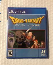 Dragon Fantasy Limited Run Games #214 Sony PS4 PlayStation 4 NEW RARE SEALED