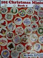 Cross Stitch Chart/Pattern - 101 Christmas Minis -  Book 2