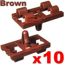 BMW X5 E53 LOWER DOOR WEATHERSTRIP RUBBER SEAL CLIPS FRONT REAR - BROWN