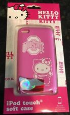 NEW Hello Kitty Ohio State Buckeyes Pink iPod Touch 4th Gen Soft Silicone Case