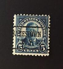 Jamestown, New York Type 43 Precancel - 5 cents Roosevelt (U.S. #557) NY