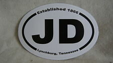 Jack Daniels JD Lynchburg Tennessee  Car Destination Sticker - NEW!