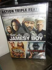 Action Triple Feature - Jamesy Boy / Baytown Outlaws / Rampage (DVD) Uwe Boll...