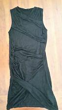 Zalora Basics Black draped dress szS BNWOT free post D64