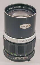 Minolta MC Tele Rokkor-PF 135mm F2.8 MD Mount Prime Lens SLR/Mirrorless Cameras