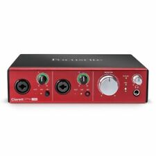 Focusrite Clarett 2Pre USB Studio Audio MIDI Interface + Softube & Ableton