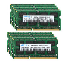 40GB 10X 4GB DDR3 1066MHz 1066 PC3-8500S 204PIN SODIMM Laptop RAM Memory Samsung