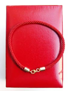 Kabbalah red string celebrity original bracelet 14k gold blessed Rachael tomb