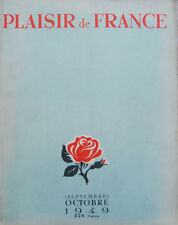 Revista Plaisir de France 1949