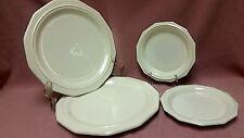 "Lot 4 Pfaltzgraff USA Heritage White Plates (2)10 5/8"" Dinner (2) 6 7/8"" Salad"