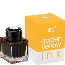 MONTBLANC TINTE IM GLAS / TINTENFASS / INK 30 ML, GOLDEN YELLOW, 112723,NEU&OVP