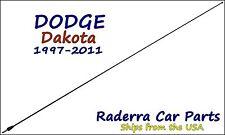 "1997-2011 Dodge Dakota - 32"" Black Stainless AM FM Antenna Mast"