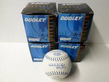 4 Vintage Dudley Thunder Blue Heat Wt12Sp Usssa Softballs - New Old Stock