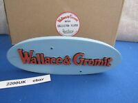 ROBERT HARROP WALLACE AND GROMIT COLLECTION PLAQUE NEW IN BOX