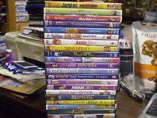 (22) Children's Girls DVD Lot: (6) Disney Annie (2) Bratz  American Girl  Amelie