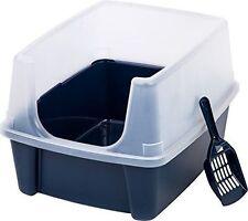 IRIS High Shield litter pan large plastic made in US durable plastic constructio