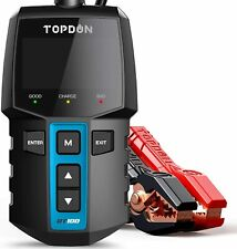 TOPDON BT100 12V Automotive Car Battery Tester Charging Cranking Test Analyzer