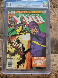 Uncanny X-Men #142 CGC 9.6 NEWSSTAND WHITE PAGES