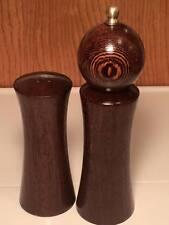 Mid century modern Italian tre spade salt shaker pepper set
