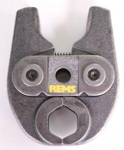 REMS Pressbacke Mini Auswahl M oder V 12 15 18 22 28 35 für Presszange Sanitär