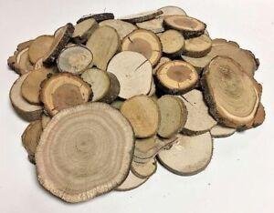 HARTHOLZ - Restposten Holzscheiben Astscheiben Baumscheiben Deko 80 St 2-10 cm