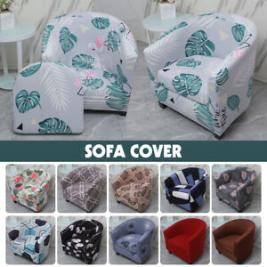 Armchair Stretch Sofa Chair Cover Tub Seat Slipcover Protector Washable Covers