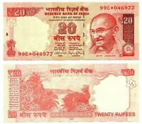 INDIA 20 Rupees REPLACEMENT 99E* (2015) P-103r* UNC Banknote Paper Money