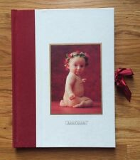 Vintage ANNE GEDDES Plum Garland BABY MEMORY PHOTO ALBUM BOOK Scrapbook Babies