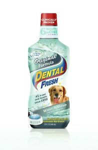 Dental Fresh Water Additive - Original Formula for Dogs 32 oz